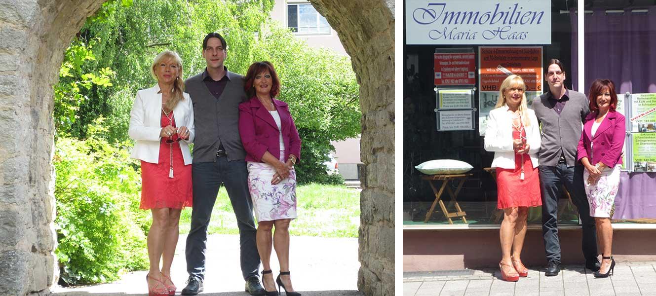 DAs Team von Immobilien Maria Haas e.K.